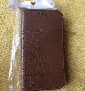 Чехол на телефон,материал-кожа