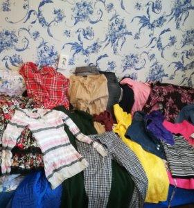Платья, кофты, джинсы
