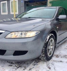Mazda 6 1.8 МТ 2003г седан .