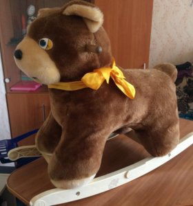 Медведь качалка