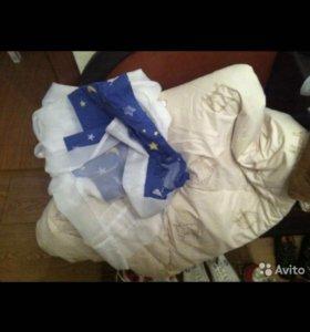 Одеяло тёплое и балдахин