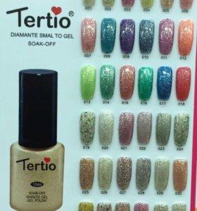 Гель лак Tertio (блестящая коллекция)