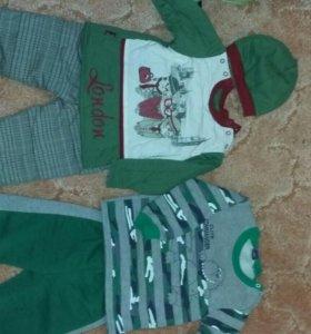 Детская одежда 2 пакета