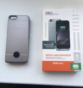 Чехол-аккумулятор iPhone 5s