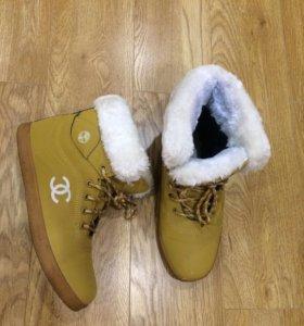 Зимние ботинки(женские)