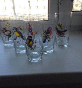 Высокие стаканы