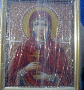 Икона бисером Св. Юлия