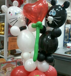 Изготовление фигур из воздушных шаров