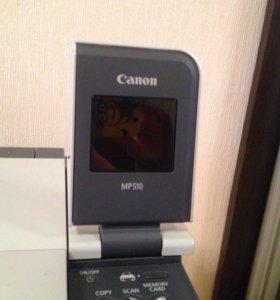 Принтер canon MP510