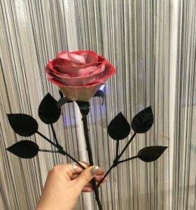 Роза из железа