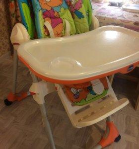 детский стульчик для кормления Сhicco Polly