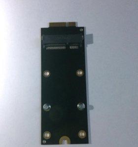 Адаптер SSD msata для MacBook 2012