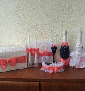 Свадебные украшения.
