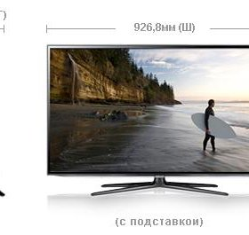 Samsung SMART TV 3D Full HD LED UE40ES6100