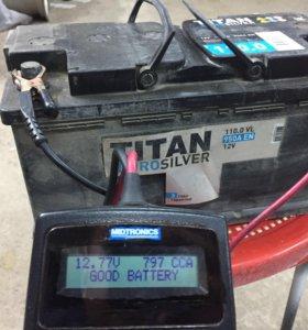 Акб аккумулятор titan 100 ач 110 ач