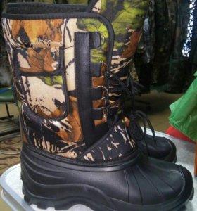 Ботинки-сапоги из EVA (пенка)