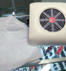 Пылесос-подставка для маникюра