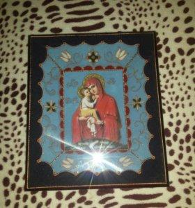 Икона Почаевской божьей матери.