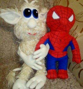 Домовенок Буба, человек паук