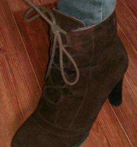 Ботинки (замша+мех)