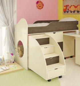 Кроватка детская, кроватка - чердак