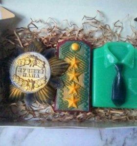 Подарочный набор мыла на 23 февраля (8)