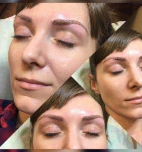 Микроблейдинг, перманентный макияж бровей,губ,век