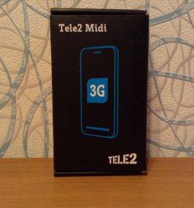 Телефон теле 2 Midi