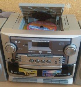 CD-проигрыватель LD, музыкальный центр