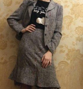 Костюм женский (пиджак+юбка)