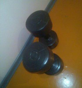 Гантели и гиря 32 кг