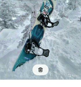 Сноуборд, крепление, ботинки