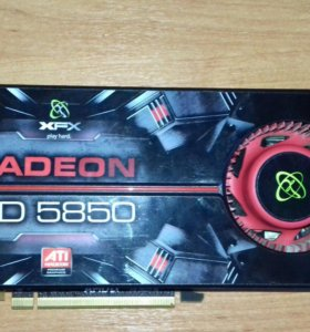 Видеокарта AMD Radeon HD 5850 Series
