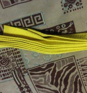 Пояс желтый