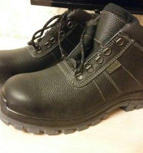 Ботинки зимние размер 43