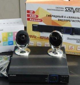 """Комплект видеонаблюдения """"Око"""" WI-FI камеры"""