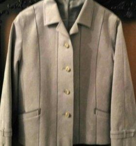 Куртка-пиджак  замшевая