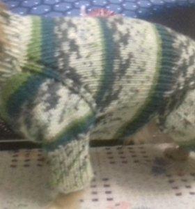Свяжу свитер на заказ