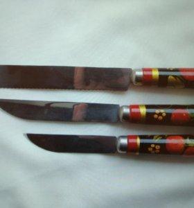 Ножи новые хохлома