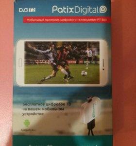 PatixDigital PT-300 DV3 T2 цифровое телевидение