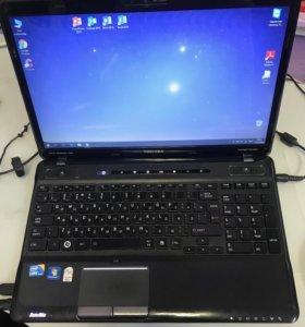 """Игровой ноутбук toshiba a660 16"""" intel i5, 4gb"""