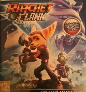 Игра для PS4 Ratchet and Clank (новая)