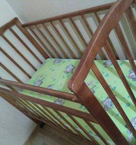 Детская кровать (маятник)