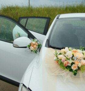 Свадебные украшения на авто Нижнекамск