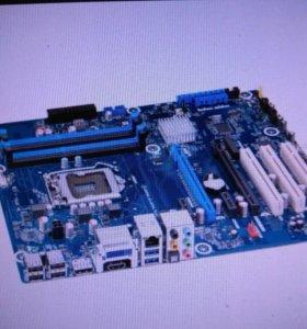 Материская плата + процессор+ память