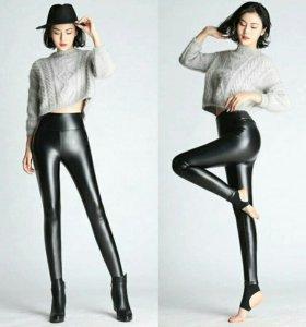 Леггинсы (брюки) под кожу 💣