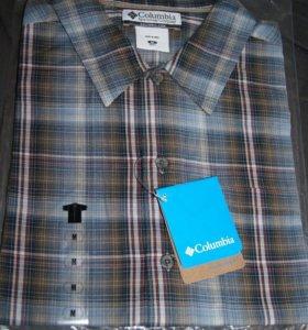 Рубашка Columbia короткий рукав хлопок р M новая