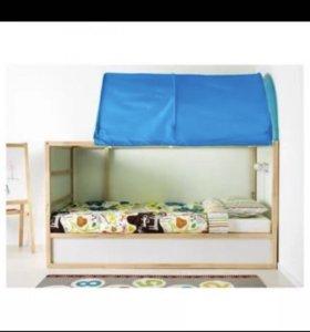 Кровать чердак икеа Кюра