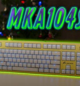 Клавиатура/ механическая/ Fl-esport Mka104S