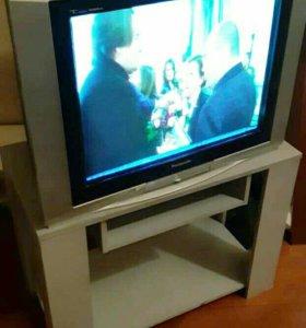 Телевизор Panasonik+тумба.